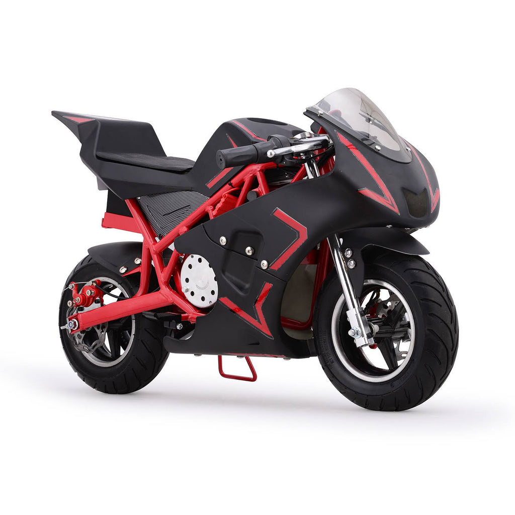 Go-Bowen Pocket Bike 36V Electric - E00001-R - Charged Riders