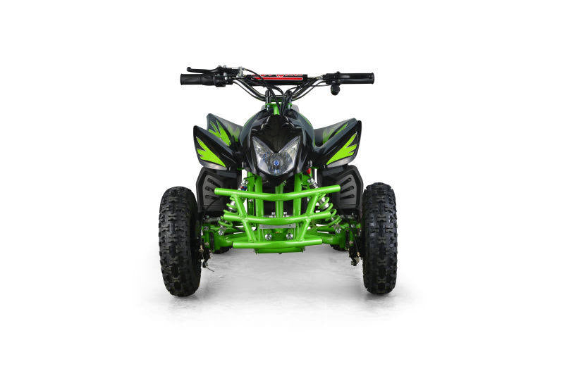 Go-Bowen Titan 350W 24V Kids Mini Quad, Green - Charged Riders
