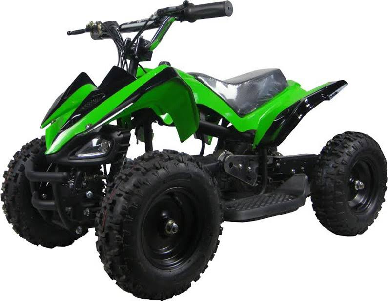 Go-Bowen Mars 350W 24V Kids Mini Quad, Green - XW-EA15-G - Charged Riders