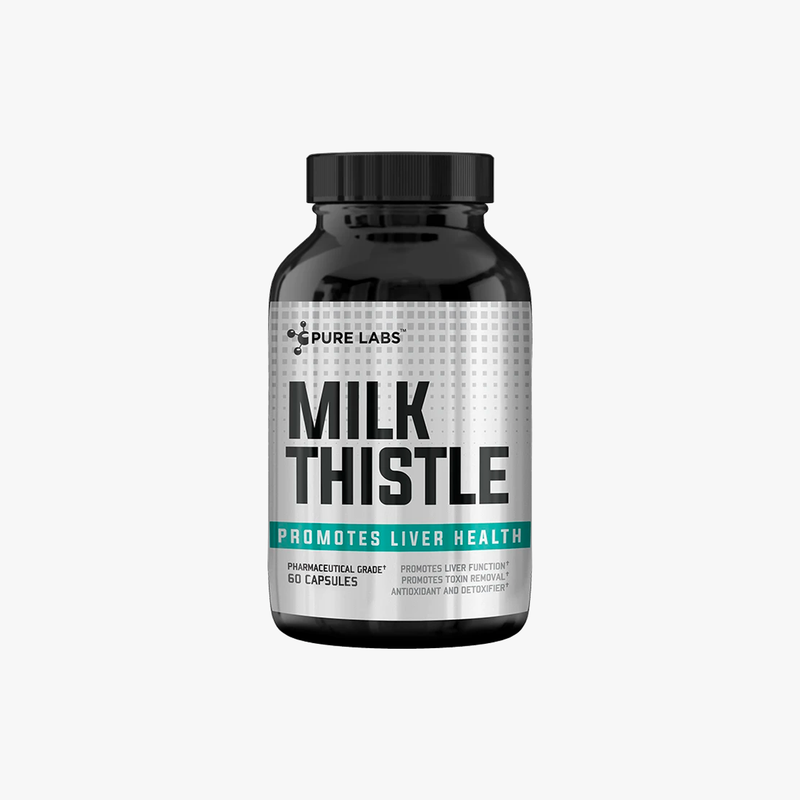 Pure Labs Milk Thistle 60 Capsules
