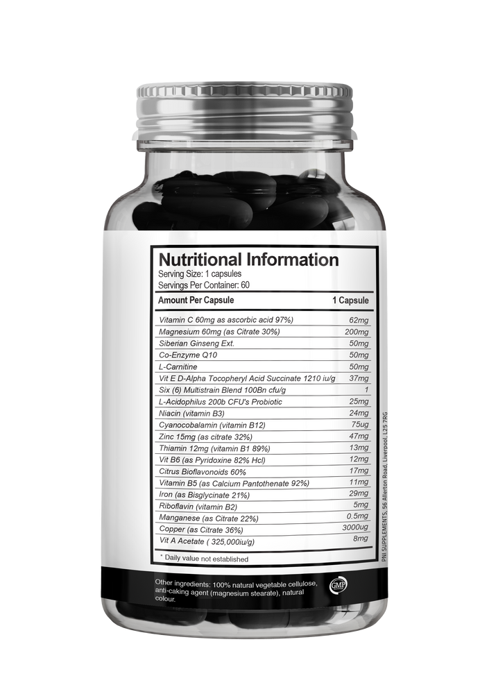 PNI Supplements - Multi Vitamin & Mineral