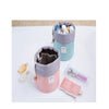 Barrel Shaped Travel Cosmetic Make up Bag