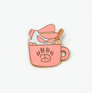 Cat Gang Coffee Pin
