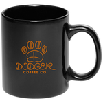 Black and Orange Coffee Mug