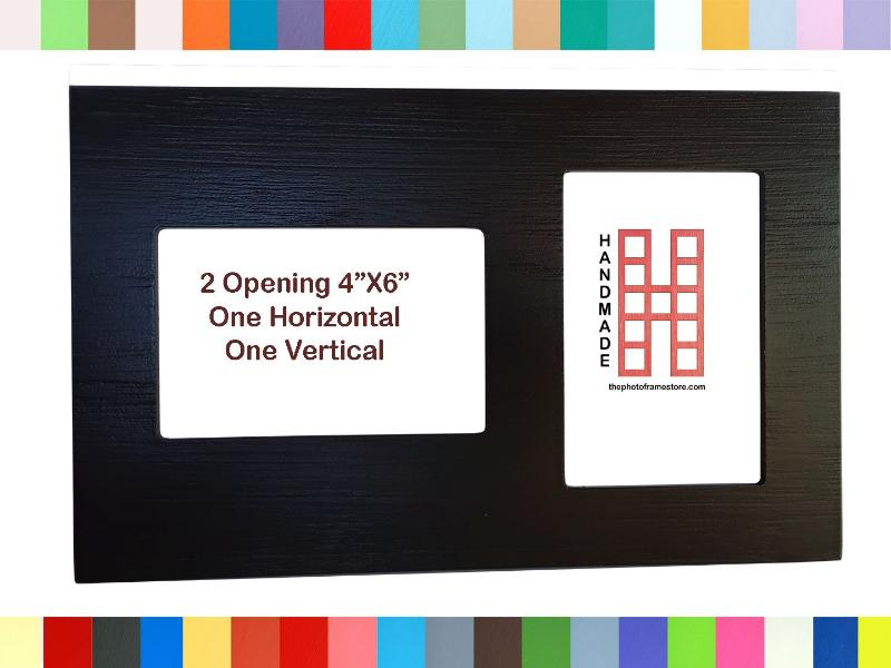 2 Opening multi opening picture frame 1 horizontal 4\