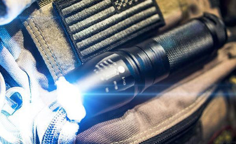 Tactical Strike Flashlight - Military Grade