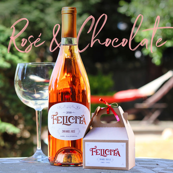 The Perfect Pair - Rosé & Chocolate