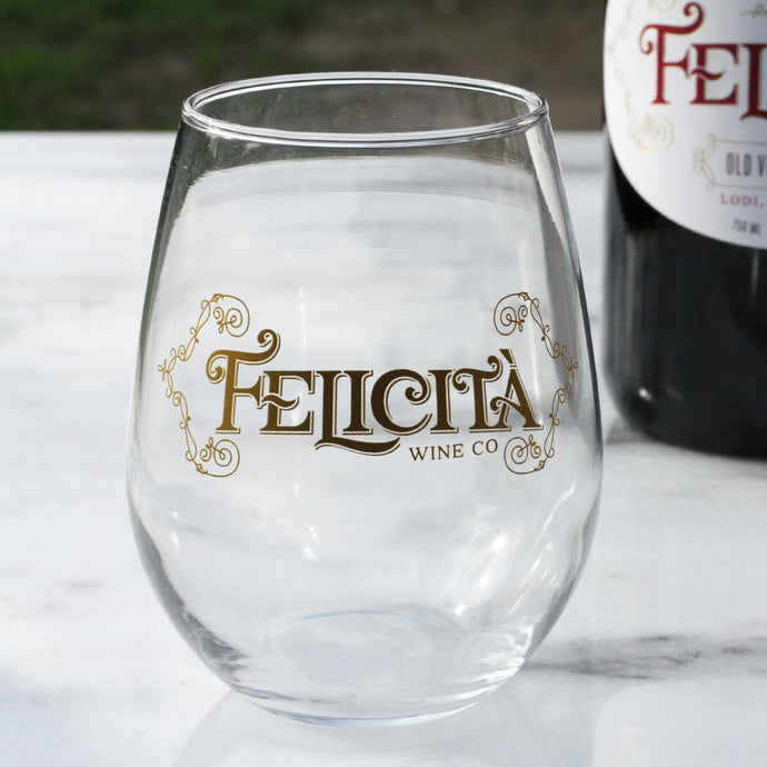 Felicità Wine Glasses (pair)