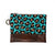 Leopard Hand-Painted Clutch