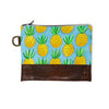 Pineapple Hand-Painted Clutch