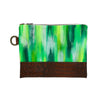 Greenery Hand-Painted Clutch