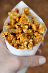 SWEET & SALTY PEANUT BUTTER POPCORN