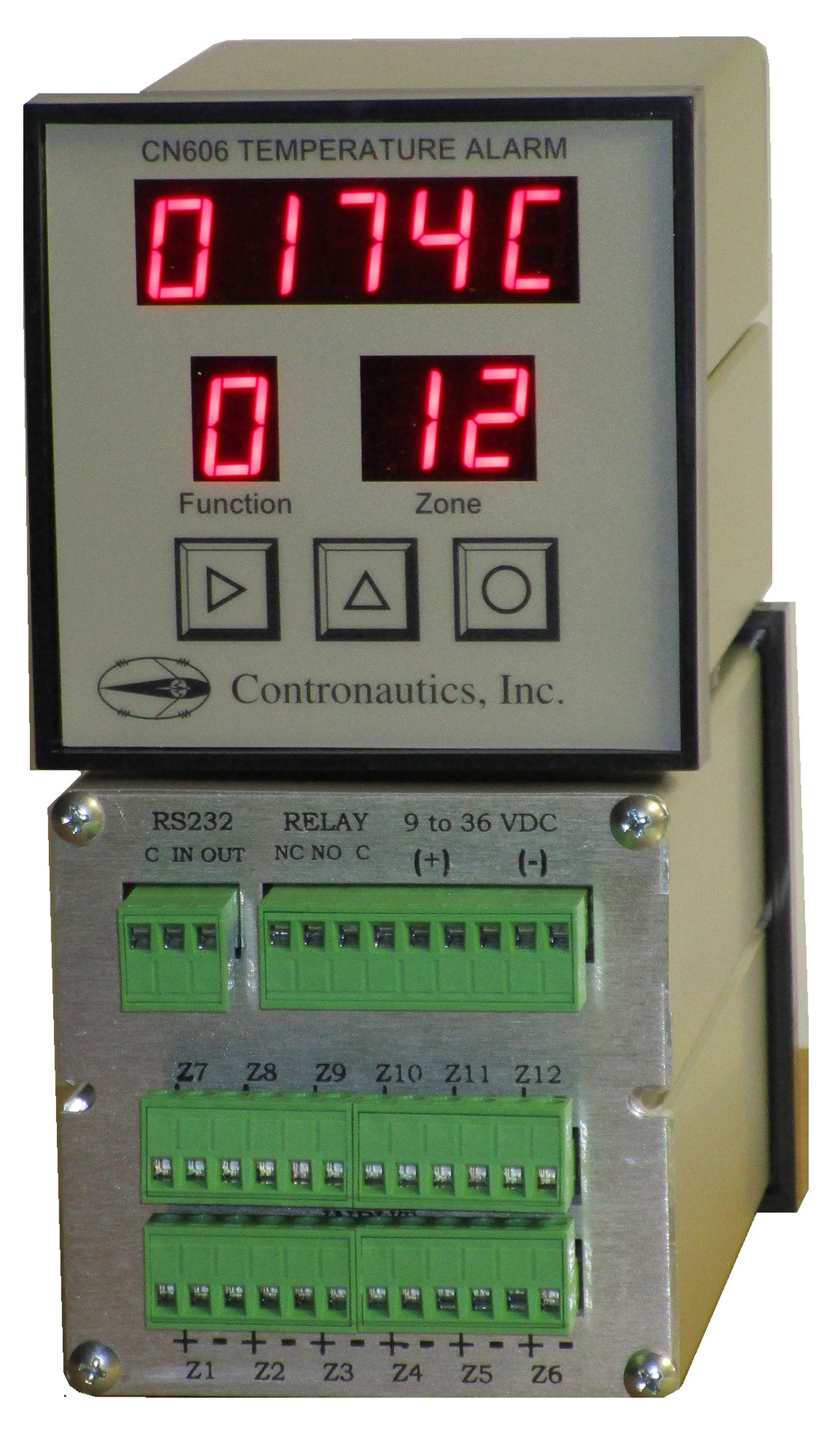 CN612T/C-DC Twelve Zone Thermocouple Temperature Monitor / Alarm - D/C