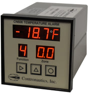CN606NR Six Zone Thermistor LOW Temperature Monitor / Alarm / Recorder - D/C