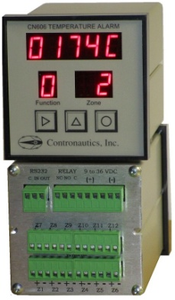 CN606RTD3-DC Six Zone RTD 3 Wire Temperature Monitor / Alarm - D/C