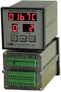 CN606RTD3  Six Zone RTD 3 Wire Temperature Monitor / Alarm - AC