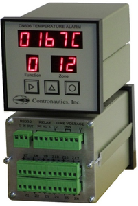 CN612T/C Twelve Zone Thermocouple Temperature Monitor / Alarm - A/C