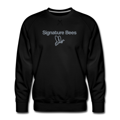 Signature Bees Triune Sweatshirt - black