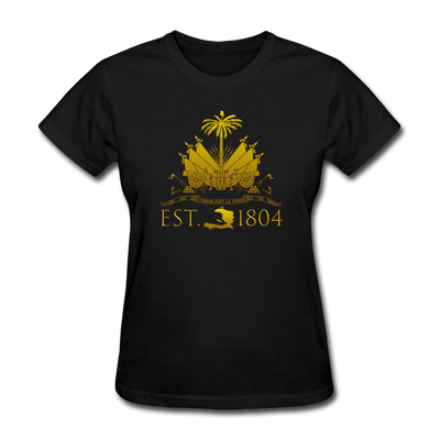 Haiti Est. 1804 Women's T-Shirt - black