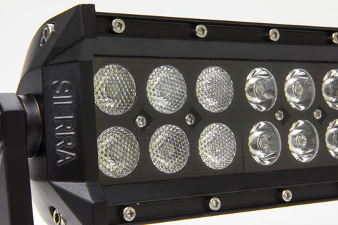 Dual Amber White 12″ LED Light Bar – 72 Watt STRAIGHT/SPOT Design Kit