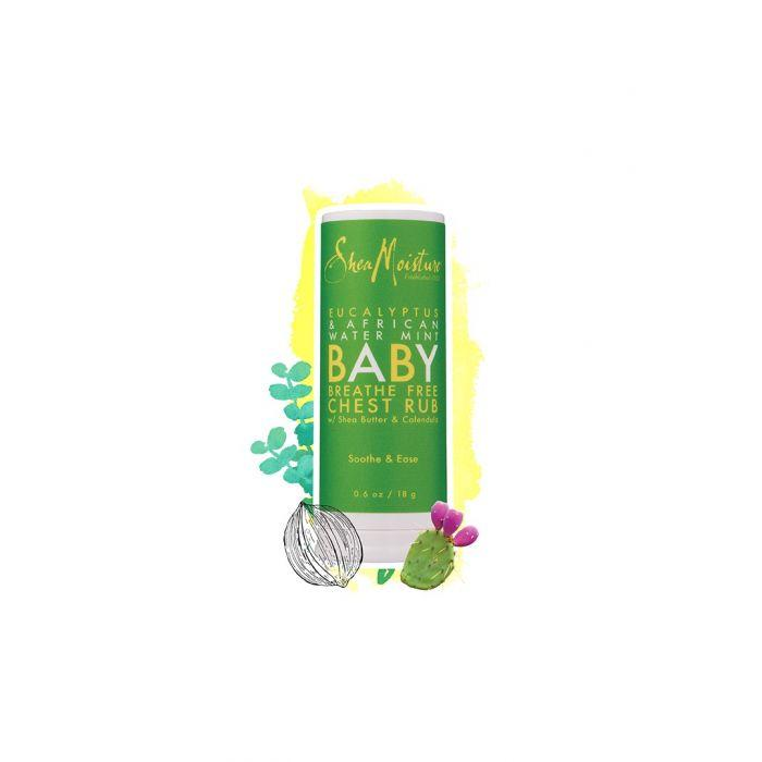 BABY Eucalyptus & African Water Mint breathe free chest rub