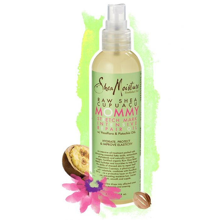 MOMMY slit olía Raw Shea Butter og Cupuaçu