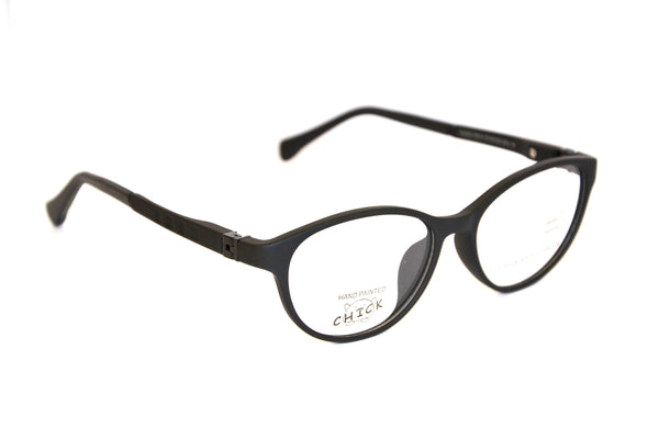 Chick Frames 519 Eyeglasses for Kids - Eyewear for girls & boys, Frame Size 47/16/125, Ages 7+