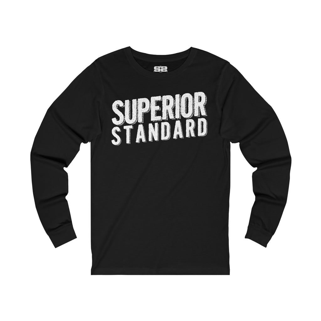 Men's Jersey Long Sleeve Tee - Superior Standard