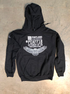 2018 Official Portland Film Festival Black Pullover Hoodie