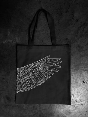 2018 Official Portland Film Festival Black Wing Tote