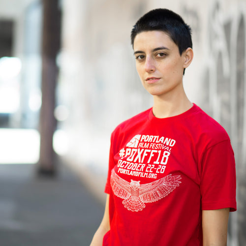 2018 Official Portland Film Festival Red T-Shirt