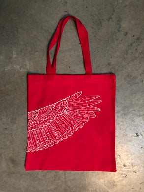 2018 Official Portland Film Festival Red Wing Tote