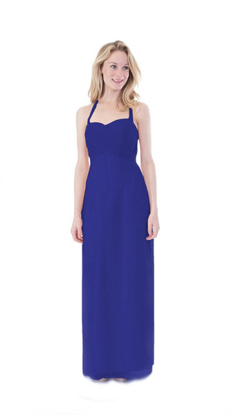 Anna Halter Bridesmaid Dress - PastelDressParty