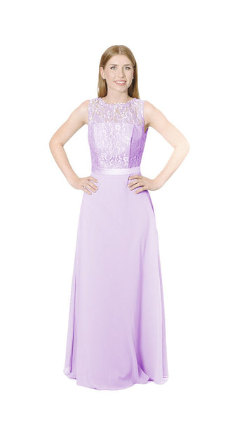 Chantel Lace Bridesmaid Dress - PastelDressParty