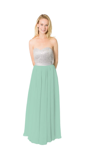 pastel-dress-party-bridesmaid-dresses-sequin-chiffon-long-sage-green