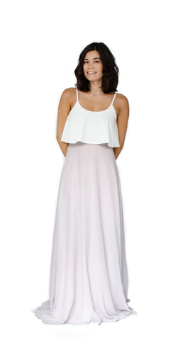Hailey Chiffon Skirt - pasteldress