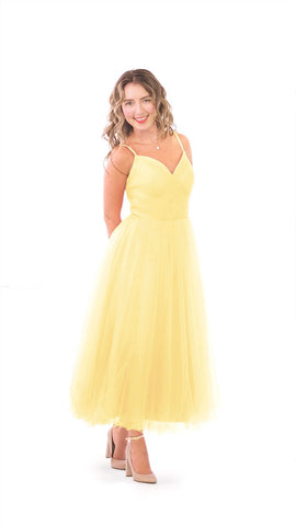 Bridesmaid Dresses Tagged Pale Yellow By PastelDress