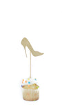 'Shoe Game' Mini Cake Topper - Pack of 5 - pasteldress