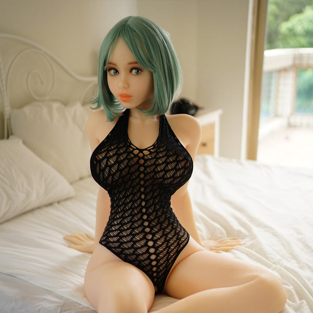 Ariel in Fishnets Sex Doll (Piper 140cm) - sexdollalley.com