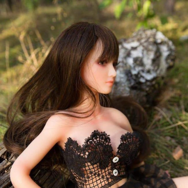 Platinum Silicone Lifelike  Realistic Mini Sex Doll - sexdollalley.com