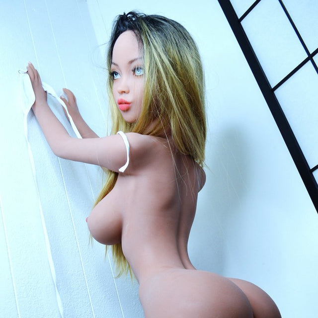 Abbey YL Sex Doll 141cm - Exotic looking asian - sexdollalley.com