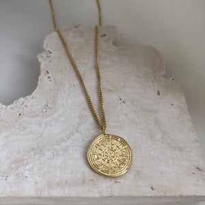 Zodiac Calendar necklace