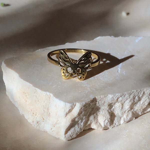 Metamorphosis (butterfly) Ring