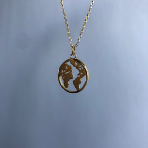 We are one (Earth) Necklace