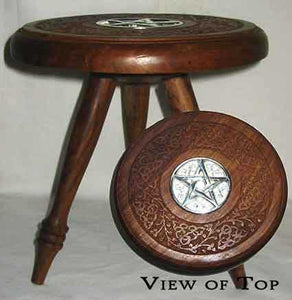 Large Pentagram Altar Table