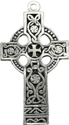 Celtic Sun Cross Amulet