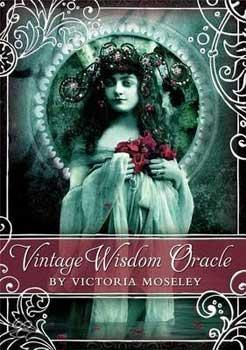 Vintage Wisdom Oracle Deck By Victoria Moseley