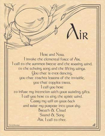 Air Invocation Poster