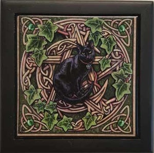 "5"" X 5"" Pentagram Cat Box"