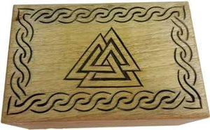 "Triangle Wood Box 4"" X 6"""